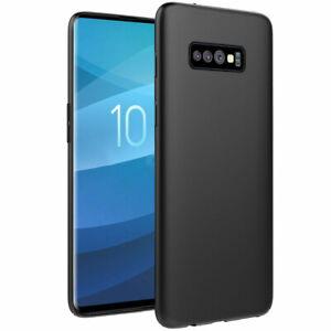 Cover case custodia Samsung Galaxy S10 LITE TPU ultra silicone nera morbida