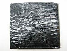 Genuine lizard wallet, men's wallet, money & card holder, by SHANT PETER U.S.A.