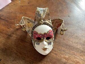 Official Italian/Venetian Ceramic Masquerade Mask Wall Hanging