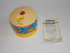Vintage 1988 Disney Dreamtime Carousel Music Box Light Up Projector Baby Mickey