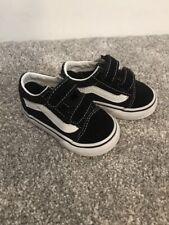 Baby Black Vans Size 3