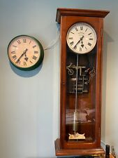 More details for rare 3/4 second synchronome master clock and slave in great working condition