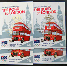 Australian Stamps: 2012 - Australian Olympic Team London Booklet - Overprint