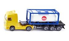 New Siku Super Series 1795 Mercedes Truck with Tank Container