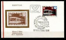 U-Bahn in Wien. FDC. Österreich 1978