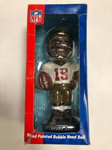 KEYSHAWN JOHNSON TAMPA BAY BUCCANEERS HAND PAINTED BOBBLE HEAD NIB