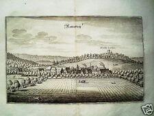 Rotenkirchen Kreiensen echter alter  Merian Kupferstich 1645