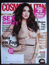 MEGAN FOX  April 2012 Cosmopolitan  KATHERINE McPHEE  CHRIS & LIAM HEMSWORTH