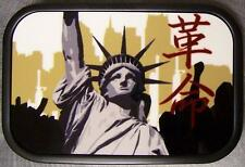 Metal TATTOO belt buckle Statue of Liberty NEW
