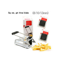 NEW French Fries Maker French Fry Cutter Potato Strip Cutting Machine Tools 4096