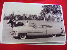 1953 CADILLAC 62 SERIES CONVERTIBLE   11 X 17  PHOTO  PICTURE