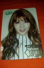 Twice momo etched yes card photocard kpop k-pop u.s seller shipped in topload