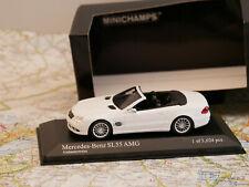MINICHAMPS MERCEDES-BENZ SL55 AMG WEISS 2007 NEW ART.400036170 1:43 NEW