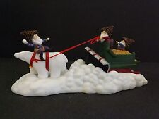 """Dept 56 North Pole Woods """"Polar Plowing Service"""" - #56929 - New In Box"""