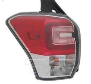 TYC NSF Left Side Tail Light Assy for Subaru Forester 2017-2018 Models