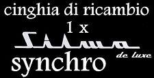★ CINGHIA DI RICAMBIO 1 x CINE PROIETTORE SUPER 8 mm SILMA DE LUXE SYNCHRO ★