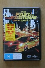 The Fast And The Furious - Tokyo Drift (DVD, 2006)       Preowned (D186)