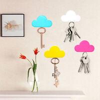 Creative Magnetic Cloud Shape Wall Key Holder Keychains Hanger Home Decoration