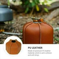 2021 Gas Tank Protective Case Cover Outdoor Camping Bag New Leather Storage T9C7