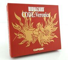 Biohazard Code Veronica (Resident Evil) - Jeu Sega Dreamcast JAP Japan complet
