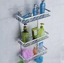 Aluminum Bathroom Shower Shelf Rack/ Caddy Storage Organizer