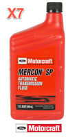 7 Quarts Auto. Trans. Fluid ATF Genuine FORD Motorcraft MERCON SP