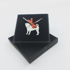 Paisley & Grace - Silver Pug Pendant