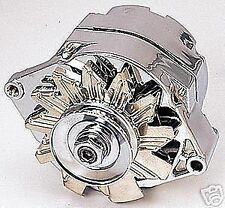 100 120 amp HOLDEN HK HT HG RED 6 CYLINDER CHROME ALTERNATOR Internal Reg