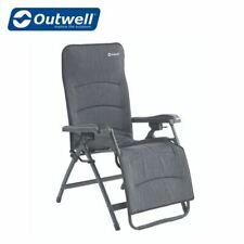 Outwell Gresham Reclining Camping Caravan Padded Chair With Pillow NEW For 2020