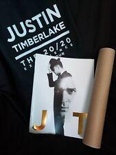 Justin Timberlake 20/20 Experience World Tour Vip Tote, Program, Poster
