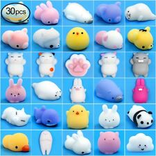 30 Pcs Mochi Animals Stress Squishy Toy Mini Animal Toys Lot Squishies Package