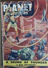 Star Ship Presents Planet Stories #11 October 1952 Rare British Edition
