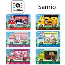 Animal Crossing amiibo sanrio complete all 6 ACNH