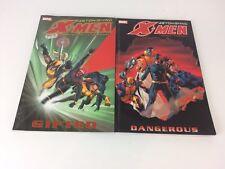 Astonishing X Men Gifted & Dangerous Comic Book Novels Bundle