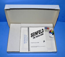 RARE SEINFELD PROTOTYPE LIMITED EDITION TRIVIA BOARD GAME MIB W CERTIFICATE WOW!