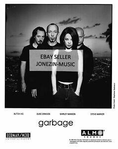 Garbage (band) rare official 8x10 promo/publicity/press photo 1998 Almo NM