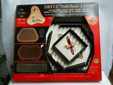 Vintage Dritz 16 sections Multi-Shape adjustable weaving Loom K177 mats doilies