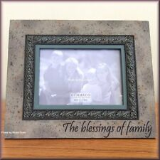 """The Blessings of Family Frame by Heartstone Holds 5"""" x 7"""" Photo Free U.S. Ship"""