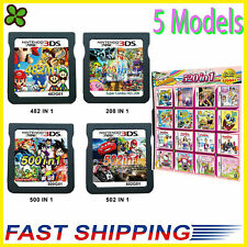 208/482/500/502/520 in1 Video Games Cartridge Cards For DS NDS 2DS 3DS NDSI NDSL