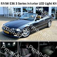 DELUXE BMW E36 3 SERIES CONVERTIBLE FULL LED Light UPGRADE WHITE Interior KIT