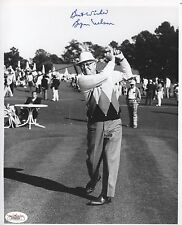 Autographed 8 x 10 Photo of Masters Champion Byron Nelson JSA Authenticated