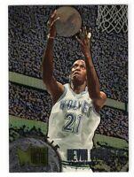 1995-96 Fleer Metal Basketball Kevin Garnett Rookie RC #167 Timberwolves