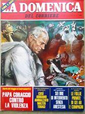La Domenica del Corriere 19 Marzo 1983 De Andrè Ghezzi Tobagi Barbone Dallas Jr