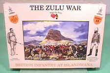 A Call To Arms Plastic 1/32 Zulu War: Zulus at Isandlwana Set 4 NEW!