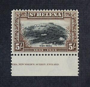 CKStamps: St. Helena Stamps Collection Scott#109 Mint LH OG