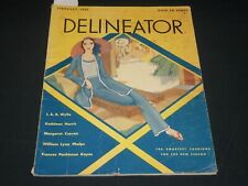 1931 FEBRUARY THE DELINEATOR MAGAZINE - GREAT FASHION ILLUSTRATIONS - ST 530S