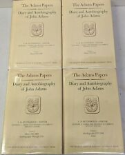 Diary and Autobiography John Adams 1961 Complete 4 HC Vols 1st edition VG cond
