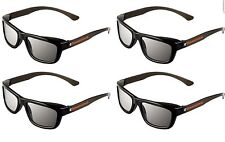 ED 4 Pack CINEMA 3D GLASSES For LG 3D TVs eDimensional Adult Sized Passive NEW!!