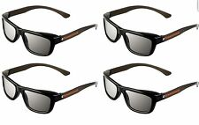 ED 4 Pack CINEMA 3D GLASSES For LG 3D TVs eDimensional Adult Sized Passive NEW!!