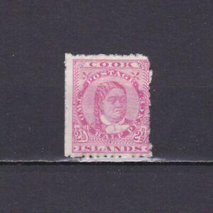 COOK ISLANDS 1893, SG# 8, Queen Makea Takau, NG